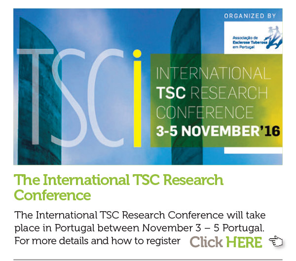 3.The International TSC Research Conference The International TSC Research Conference will take place in Portugal between November 3 – 5 Portugal. More details and how to register here  http://en.admedic.pt/eventos/international-tsc-research-conference-.html