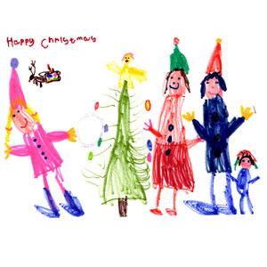 T.S.A. Christmas card